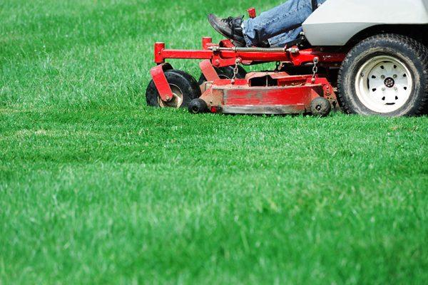 Proper cut height, patterns and time of day are factored into your lawn mowing Wichita service by Lawn Pros.
